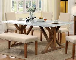 Industrial Kitchen Table Furniture Furniture Of America Cm3533t Armous I Industrial Natural Tone Wood