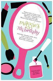 Resultado De Imagem Para Makeup Party Invitation Templates Free
