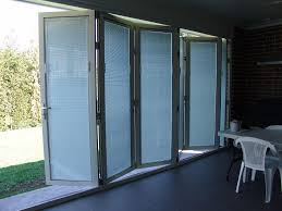 single patio door exterior