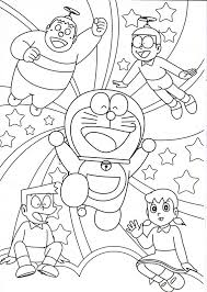 Doraemon flies with fan 1d86. Many Doraemon Coloring Sheets For Kids Coloring Pages For Kids On Coloring Forkids Com