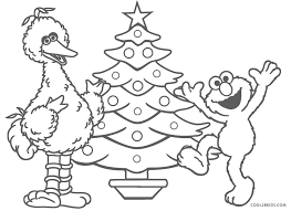And remember, you can express yourself freely by coloring outside the lines if you want, choose any color want and perhaps even use some glue and glitter. Free Printable Sesame Street Coloring Pages For Kids