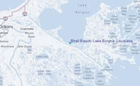 Shell Beach Lake Borgne Louisiana Tide Station Location Guide