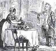 bbc history women s work a victorian wife keeps house for her on looking husband