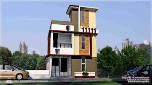 Home View Design For Flower Kerala Three Modern Design Single Home Front