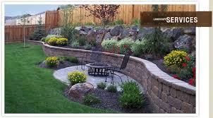 backyard retaining wall designs backyard retaining wall designs stylish 34 backyard wall ideas on retaining wall landscaping best decoration