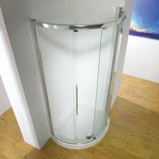 Interesting Curved Shower Enclosures Uk Kudos Original Sliding Enclosure Intended Decor