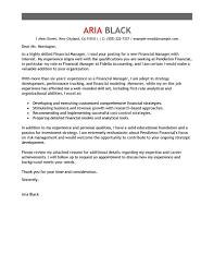 Example Of Executive Cover Letters Leading Professional Manager Cover Letter Examples Resources