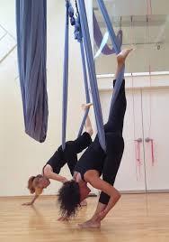 aerial yoga triangle yoga