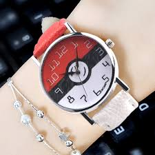 ball mens watch promotion shop for promotional ball mens watch on dhl 100pcs brand new oktime pokemon go art watch pokemon ball watch laides women mens leather fashion wristwatches