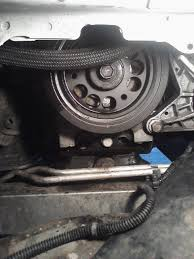lowering subframe to remove crankshaft pulley - Chevy Impala Forums