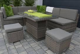 Rattan Lounge Mit Esstisch Luxury Svita Poly Rattan Ecksofa Rattan