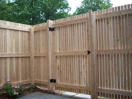 image of diy wood fence gate