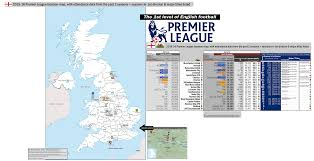 england premier league 1st division location map with 14 15 attendances all time seasons in 1st division major les listed