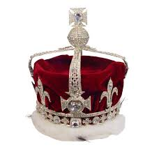 Mountain Of Light Diamond Crown Made For Queen Elizabeth The Queen Mother This