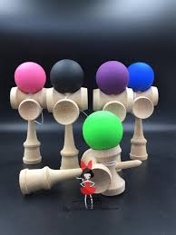 Wooden Ball On String Game TWB retail Rubber paint 100cup ball strings professional japan 83
