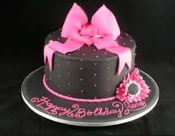 11 Simple Girly Bday Cakes Cool Photo Simple Girly Birthday Cake