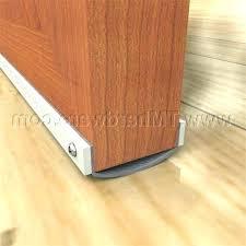 garage door draft stopper interior door bottom seal garage garage door draft stopper nz