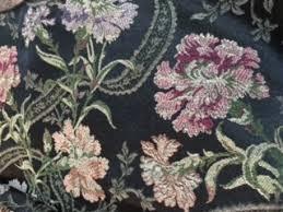Floral Brocade Black Floral Brocade Linen Event Theory