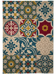 moroccan mosaic tiling style rug hallway flooring ideas to transform your interior