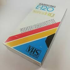 New Sealed SAMSUNG <b>E</b>-<b>120</b> Super HQ Video Cassette <b>VHS</b> PAL ...