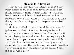 using details and examples writing an argumentative essay ppt  5 music