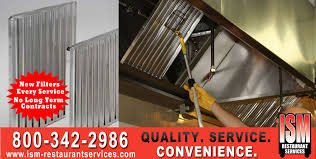 Hood Grease Filter Grease Filters Hood Filters Restaurant Grease Filter Service Ism