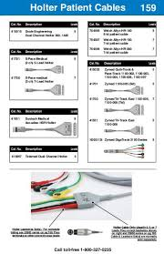 Clinical Chart 158 Holter Patient Cables