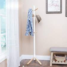 Floor Standing Coat Rack Simple Amazon ZXL Floorstanding Coat Rack Solid Wood Bedroom Living