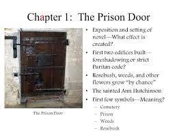 the scarlet letternathaniel hawthorne chapter 1 the prison intended for how many chapters are in the scarlet letter