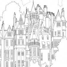 Small Picture Architecture Coloring Book Coloring Coloring Pages