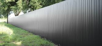 Delighful Sheet Metal Fence New Architectural Privacy Fencing Utilizes For Inspiration Decorating