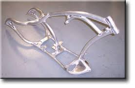 r r racing custom aluminum chopper frames