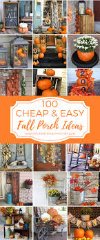 Image Halloween 100 Cheap And Easy Fall Porch Decor Ideas Pinterest 100 Cheap And Easy Fall Porch Decor Ideas Cheap Diy Home And