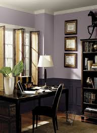 home office paint color schemes. purple paint color scheme for home office from benjamin moore schemes e