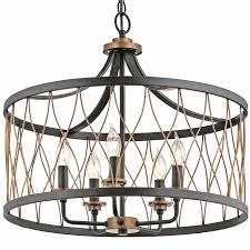 lamps plus drum chandelier elegant drum shade pendant light 26335 astonbkk com