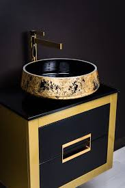 luxury bathroom sinks gold bathroom