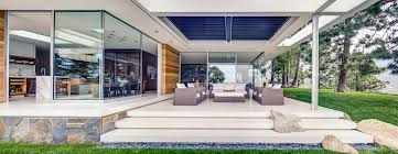 mid century modern in malibu residential galleries sliding glass doors located almost every room of this