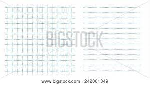 Dotted Line Template Set Square Grid Small Vector Photo Free Trial Bigstock