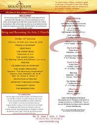 Church Program Templates Free Download 33 Free Church Bulletin Templates Church Programs