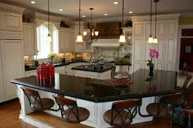 Dark Granite Kitchen Countertops Splendid Dark Black Granite Kitchen Countertops Plus Cream Colored