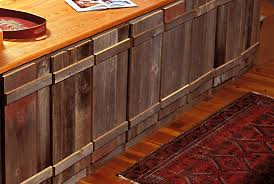 rustic reclaimed wood kitchen cabinets sleek wooden countertop mid doors cupboards painted country remodel contemporary