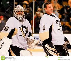 Marc-Andre Fleury And Brent Johnson Peguins (NHL) Editorial Photo - Image  of brent, league: 45189431