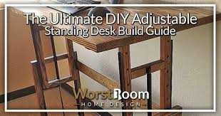 the ultimate diy adjustable standing