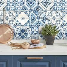 Mediterranean Tile Peel and Stick ...