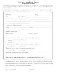 Child Support Contract Template