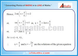 solved problems 9 2 trigonometry trigonometric equation iit jee maths