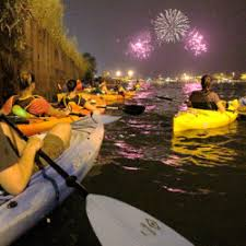 Navy Pier Fireworks Paddle   Wateriders - Chicago Kayak Tours and ...