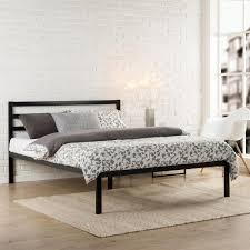 twin platform bed with headboard. Modren Twin Zinus Modern Studio Black Twin Platform Bed And With Headboard O