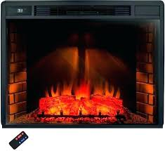 pleasant hearth electric fireplace that les ling logs 20 in brown insert