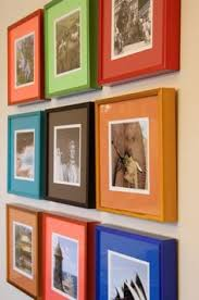 custom framing ideas. This Is Also An Interesting Idea! Frame The Awards And Dad\u0027s Photos With Colorful Mats Frames Custom Framing Ideas O